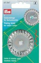 Prym Reservemesje rotarycutter rolmessen gekarteld 45 mm