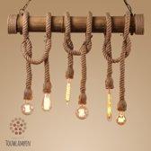 Losbandige Bamboe Van Vliet Touwlampen