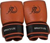 Bruce Lee Dragon Bokszak / Sparring Handschoenen - Leer - M