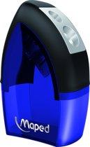 Tonic Metal potloodslijper 2-gaats - blauw