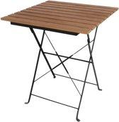Bolero Vierkante kunststof tafel   Houtkleurig