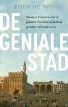 Boek cover De geniale stad van Koen de Vos (Hardcover)