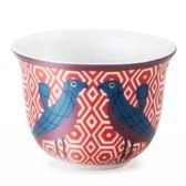 Kopjes voor espresso - Set van 6 stuks - Paradise Birds Image d'Orient