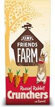 Tiny friends farm russel crunchers carrot - 4 ST à 120 GR