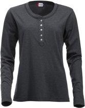 Orlando dames t-shirt antraciet xl