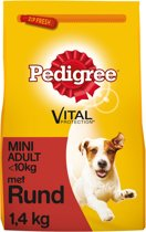 Pedigree Mini Adult - Rund -  1.4 kg