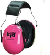 3M Peltor gehoorkap Kid neon roze met hoofdbeugel (H510AK-442-RE)