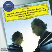 Stravinsky, Prokofiev, Webern, Boulez / Maurizio Pollini