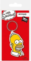 THE SIMPSONS - Rubber sleutelhanger - Homer Simpson 6 Cm