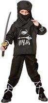 Carnavalskleding American ninja kind Maat 116