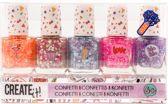 Create It! Nagellak Confetti 5pk