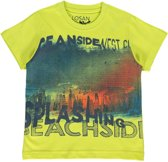 Losan Jongenskleding -  shirt geel - Z30-65 - Maat 92