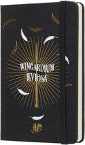 Moleskine agenda 18 maanden - Limited Edition Harry Potter - Wekelijks 2018/2019 zwart - Pocket - Hard Cover