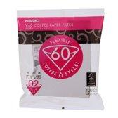Hario Koffiefilters V60 02 - kegelvormig