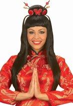 China girlkostuum voor vrouwen - Verkleedpruik - One size