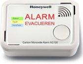 Honeywell Koolmonoxidemelder XC100 - 10 jaar accu - Geluid én licht alarm - Meet zeer lage koolmonoxidewaarden