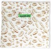 Herbruikbaar boterhamzakje / herbruikbaar lunchzakje (1 stuk) - Vers en Koel houden - Duurzaam - Zero Waste - GOODLIFE