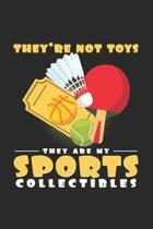 Toys sports collectibles: 6x9 Collecting - lined - ruled paper - notebook - notes