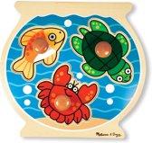 Melissa & Doug - Fish Bowl Large Peg Puzzle