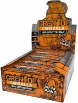 Grenade Carb Killa Bars - Eiwitreep - 1 box (12 eiwitrepen) - Jaffa Quake