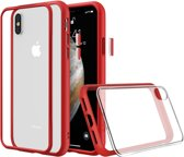 Rhinoshield MOD NX Crash Guard Bumper Red Apple iPhone Xs