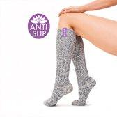 SOXS® Wollen Anti Slip Yoga Sokken - Maat 37/41 - Venus Symbool