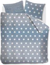 At Home Starry Sky - dekbedovertrek - tweepersoons - 200x200/220 - Blauw