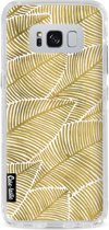 Casetastic Hard Case Samsung Galaxy S8 Plus - Tropical Leaves Gold