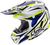 Arai Crosshelm MX-V Slash Blue-S