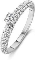 Blush Ring 1135WZI -  Wit Goud (14Krt.) met Zirconia