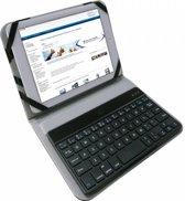 Universeel 8 Inch Bluetooth Keyboard, zwart , merk i12Cover