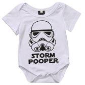 Romper Star Wars ★ Storm Pooper ★ 0-6 maanden ★ The Dark Side