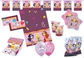 Glamour Girls feestpakket 62-delig