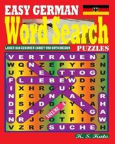 Easy German Word Search Puzzles. Vol. 4