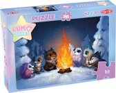 Lumo Stars Puzzel By the Fire - 56 Stukjes