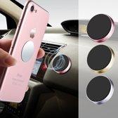 Universele 3M Sticker Dashboard Magneet Telefoon Houder voor in de Auto Kleur: zwart