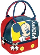 Mickey Mouse Lunchtas School Lunch Tasje Vrolijk