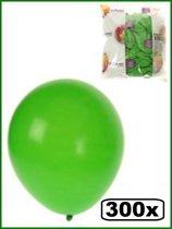 Ballonnen helium 300x groen