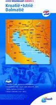 ANWB wegenkaart - Europa 5. Kroatië/Istrië/Dalmatië
