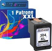 PlatinumSerie® 1 x cartridge alternatief voor HP 304 XL black