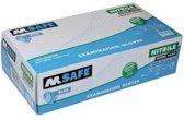 Nitril wegwerphandschoen M-Safe 4525 poedervrij blauw maat 9/L