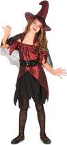 Heksenoutfit voor meisjes - Verkleedkleding - 122/128