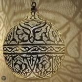 Nour Lifestyle Arabische hanglamp Haifa met Oosters patroon - maat XL