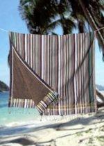 Kikoy strandlaken Wanaume Stripes - 96 x 170 cm