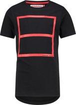 Vingino Jongens War Child collectie T-shirt - Deep Black - Maat 140