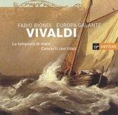 Vivaldi: La tempesta di mare, Concerti / Biondi, Europa Galante