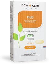 New Care Multivitaminen - 30 Tabletten - Multivitamine
