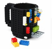 build a brick Lego Mok - zwart - 350 ml