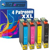 PlatinumSerie® 5 x inktcartridge XXL alternatief voor Epson WorkForce WF-2860DWF