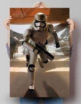 STAR WARS EPISODE VII THE FORCE AWAKENS - stormtrooper  - Poster 61 x 91.5 cm